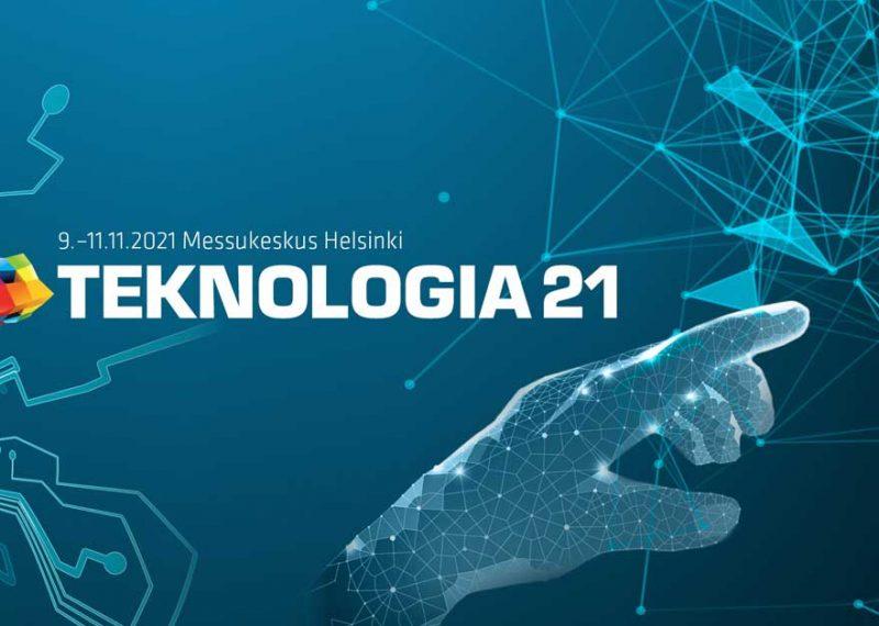 Teknologia 21 järjestetään Messukeskuksessa Helsingissä 9.–11.marraskuuta.